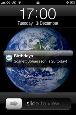 Birthday Reminder for Facebook Reminder Notification