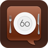 60secondreviews Restaurants App Store Icon